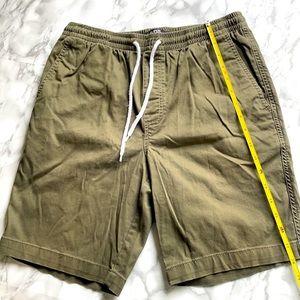 Army Green Chino Shorts - Men's S/M